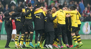 In the DFB Cup final Eintracht Frankfurt faces Borussia Dortmund. For the bookmakers, the BVB is the clear favorite – will Frankfurt cause a sensation?